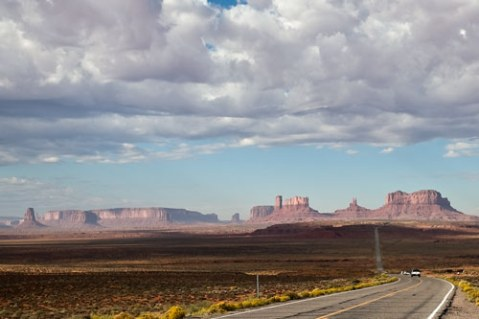 UT 191 through Monument Valley and Blanding