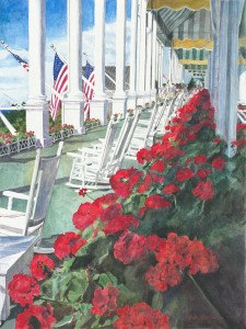 Front Porch at the Grand