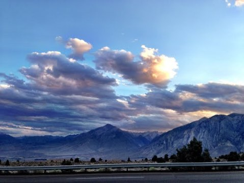 Mount Morgan from 395