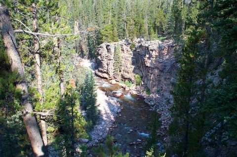 YellowStone River on the South Slope of the Uinta Wilderness
