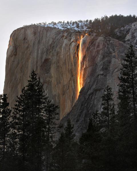El Dorado NF waterfall