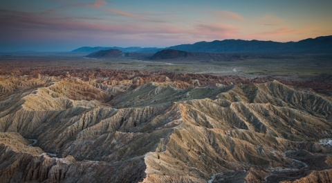 Font's Point and Borrego Badlands