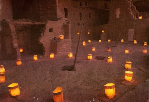 Luminarias at Bandolier