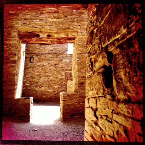 Doorway in Pueblo Bonito