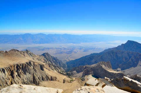 Lone Pine from Mount Whitney