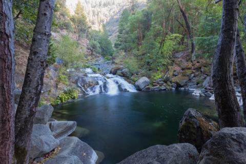 Milsap Falls Plumas National Park