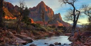 Zion National Park stream