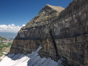 summit of Mt. Timpanogos