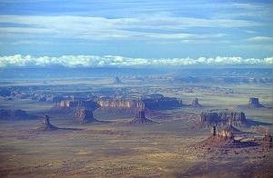 Aerial Southeast Utah