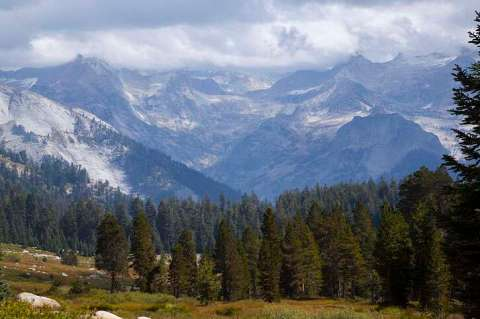 Alta Meadow and the Great Western Divide, Sequoia National Park