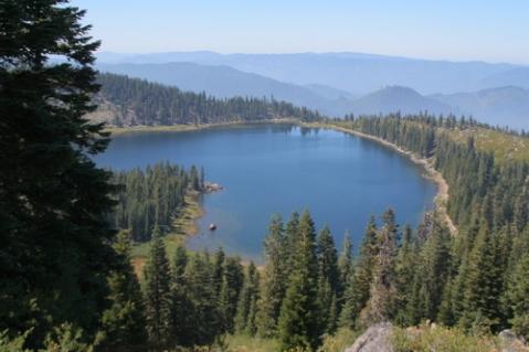 Ukonum Lake, Marble Mountain Wilderness Area