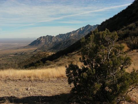 Baylor Pass, Organ Mountains