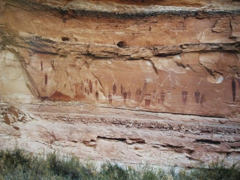 Petroglyphs Canyon of the Ancients