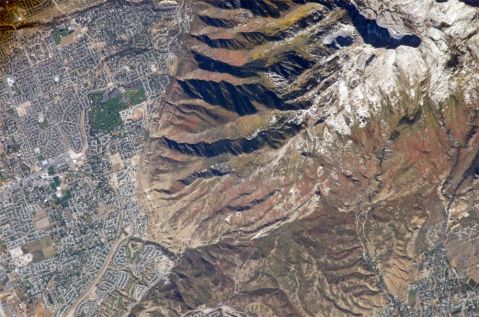 WasatchMtns from space