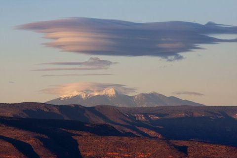 Lenticular Cloud over San Francisco Peaks