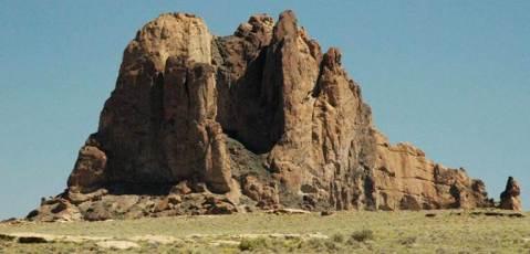 Bennett Peak volcanic neck