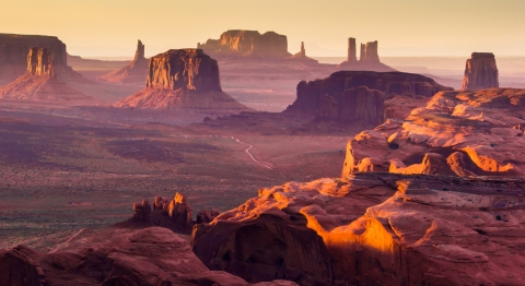monument-valley-sunset