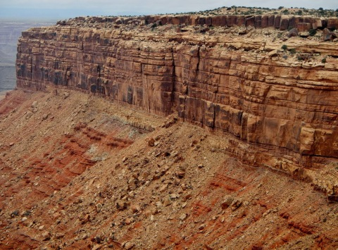Muley Point - Cedar Mesa, part of Cutler Formation