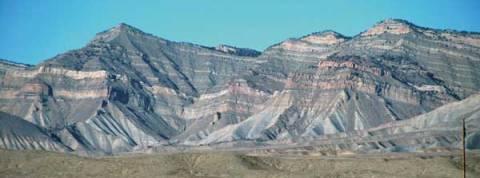 Book Cliffs North of Grand Junction Colorado