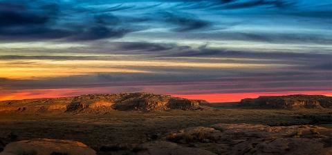 Chaco_Canyon__Twilight