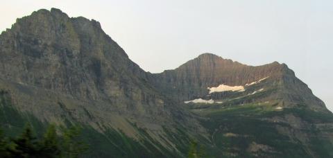 Dusty Star Mountain & Citadel Mountain