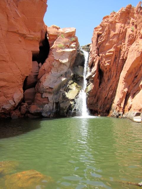 Gunlock Waterfalls