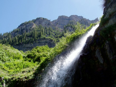 Lower Falls, Aspen Grove Trail, Timpanogos