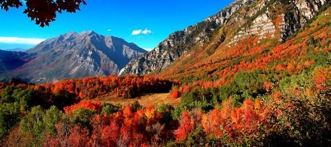 Provo Mountains & Mt. Timpanogo