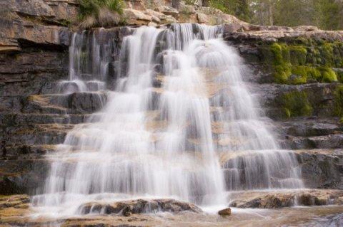 Upper Provo Falls, Mirror Lake Highway