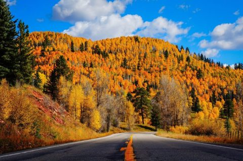 U.S. Highway 550 north of Durango, Colorado