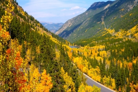 Colorado fall drive