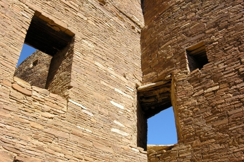 windows at chaco