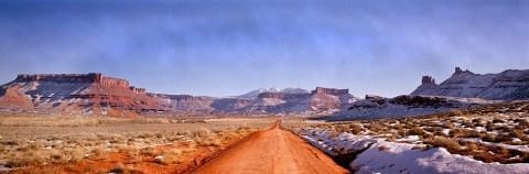 Dirt road near moab
