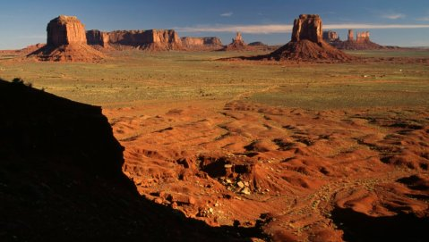 Monoliths, Monument Valley, Arizona and Utah