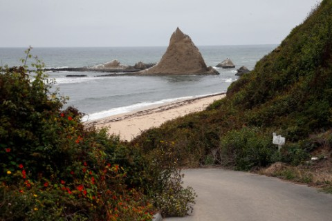 road to Martins Beach