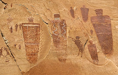 Horseshoe Canyon Petroglyphs