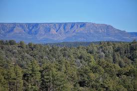 mogollon rim just north of payson