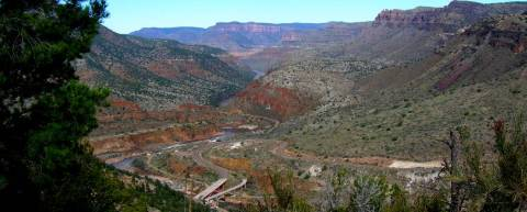 Salt River Canyon from US 60