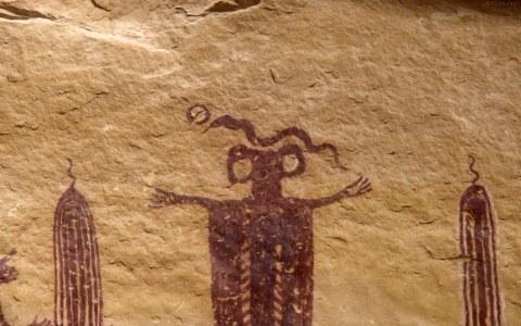 Skeleton Shaman pictograph