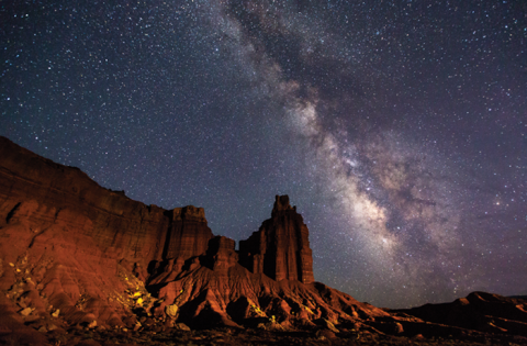 capitol reef international dark sky